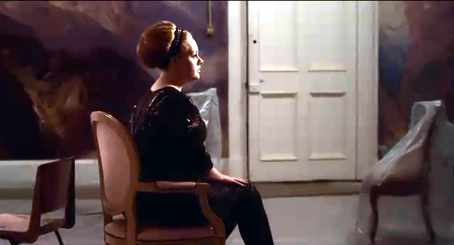 Adele in rolling in the deep music video