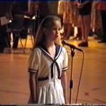 Lucy sjunger National Sången EM Bowling 1993
